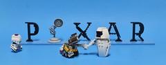 Pixar Wall-E (Miro78) Tags: walle lego pixar eve humblebricks