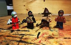 Gotham Knight (Lord Allo) Tags: lego dc batman gotham knight deadshot man black scarecrow killer croc
