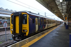 Northern Super Sprinter 156484 (Will Swain) Tags: station 20th september 2018 greater manchester city centre north west train trains rail railway railways transport travel uk britain vehicle vehicles england english europe bolton northern super sprinter 156484 class 156 484