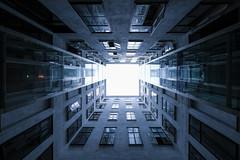 Futuristic (CoolMcFlash) Tags: architecture modern pov pointofview symmetry geometry vienna futuristic building lines architektur fujifilm xt2 blickwinkel perspective perspektive lowangleview symmetrie wien geometrie gebäude linien fotografie photography xf1024mmf4 r ois