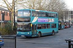 AMN 6002 @ High Wycombe bus station (ianjpoole) Tags: arriva midlands daf db250 alexander alx400 kl52cwp 6002 working route 48 high wycombe bus station the row lane end
