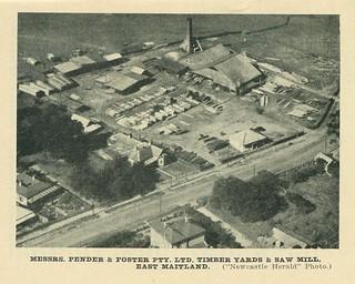Pender & Foster, East Maitland, 1945