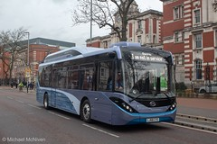 Alexander Dennis BYD Demo LJ68CYO (Mike McNiven) Tags: alexanderdennis byd electric enviro200 mmc oxfordroad sharston demo demonstrer eco stagecoach manchester whitworthpark enviro200ev ev
