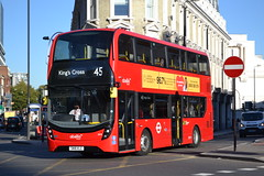 Abellio London 2614 SN18KLE (Will Swain) Tags: london kings cross 27th september 2018 greater city centre capital south bus buses transport travel uk britain vehicle vehicles county country england english williamsdigitalcamerapics103 abellio 2614 sn18kle