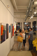 Art discussions (radargeek) Tags: 2018 waco texas tx june downtown cultivate7twelve art gallery painting summer