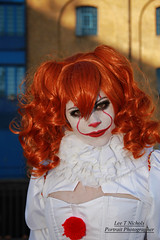 MCM London Oct 2018 Sunday XLVI (Lee Nichols) Tags: mcmlondonoct2018sunday canoneos600d cosplay cosplayers costume costumes comiccon photoshop londonexcel mcmcomiccon mcm pennywisetheclown it pennywise clown