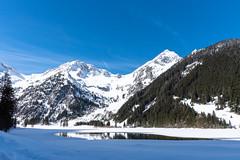 waterhole (husiphoto) Tags: see lake wasser water landschaft landscape eis ice berge mountains nikon d750 nikkor blau blue weiss white schnee snow outside