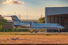 PT-MTP - Gulfstream G450 (RafaelBateraSSA) Tags: ssa sbsv salvador night boeing airbus nikon sideral avianca jordan tap copa airlines gulfstream g450 737f a320 767 a330 planes spotter