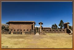 El impresionante templo de Wiracocha en la ruta del Sol (Fotocruzm) Tags: wiracocha fotocruzm mcruzmatia inca perú raqchi complejoarqueológico rutadelsol