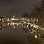 The River Ouse in York at night. thumbnail