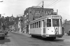Thuin, Ville Basse (Tim Boric) Tags: thuin ruetserstevens villebasse tram tramway streetcar strassenbahn buurttram buurtspoorwegen vicinal vicinaux interurban überlandbahn nmvb sncv types