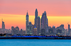 _DS20467 - Dubai Marina skyline (AlexDROP) Tags: 2019 dubai uae emirates art travel architecture tower color cityscape skyline nikond750 afsnikkor28300mmf3556gedvr best iconic famous mustsee picturesque postcard bluehour sunset