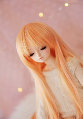 Dreaming ♥ (SunShineRu) Tags: mnf miyu theru fairyland bjd ball jointed doll minifee slim msd dolls cute kawaii lights fairy sleeping head