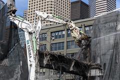 Viaduct column crush (WSDOT) Tags: demolition replacement construction wsdot gp seattle viaduct 2019 alaskan way