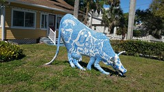 34. What's your story? (Work of Art) (Carol (vanhookc)) Tags: apieceofart sculpture animal storyteller cow aworkofart 52in2019