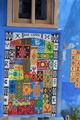 Spectacular Door, Chefchaouen (Buster&Bubby) Tags: chaouen bluecity morocco chefchaouen rifmountains maroc