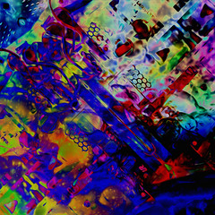 el3ctriK! (Mark Noack) Tags: boards wiring light color photoshop layer layering surreal expressionism abstract psychedelic futurist abstraction awardtree shockofthenew