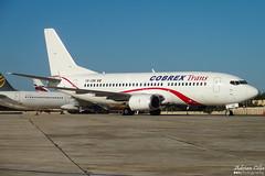 Cobrex Trans --- Boeing 737-300 --- YR-CBK (Drinu C) Tags: adrianciliaphotography sony dsc mla lmml plane aircraft aviation hx9v cobrex trans boeing 737300 yrcbk 737