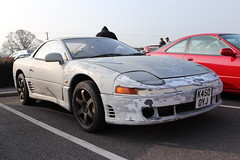Mitsubishi GTO K450OYJ (Andrew 2.8i) Tags: haynes museum sparkford classic car cars classics breakfast meet show japanese sports sportscar coupe hatch hot hatchback gt grandtourer 3000 3000gt turbo gto mitsubishi