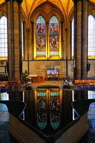 Salisbury Cathedral Font, Wiltshire, UK