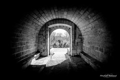 CB/Photographie (Brionnaud Christophe) Tags: tunel art étrange extérieur etrange ténébre lumiere photo photographe photographie flickr france hautecorreze black blackandwhite artwork wwwfacebookcomchbrphotographie christophe cbphotographie correze brive brionnaud blanc noir