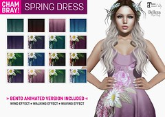 !Chambray x SEmotion Spring Dress [Bento Animated) (Marie Sims) Tags: bento clothing ao animations animation avatar anim animaitons animaions animated aohud animarions event 3d expression emotion expressions release rigged trendy trend hud inworld pose poses posing photographer photosl photo ptoho props hq woman candy vanity cosmo blogger new