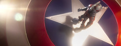 Ready when you are Cap! (tomtommilton) Tags: toy toyphotography actionfigure macro cinematic movie antman captain america star shield lensflare superhero avengers marvel