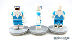All rounded view (front, side & back view) (WhiteFang (Eurobricks)) Tags: lego minifigures cmfs collectable walt disney mickey characters licensed design personality animated animation movies blockbuster cartoon fiction story fairytale series magic magical theme park medieval stories soundtrack vault franchise review ancient god mythical town city costume space