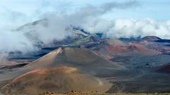 Volcanic cones on Haleakalā (rao.anirudh) Tags: hawaii maui