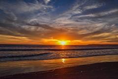 Coronado Springs (dweible1109) Tags: reflection 18140mmnikkor d5600 nikon sundown evening waves ocean skyscape skyline sky cloudscape clouds magichour sunset pacificocean california coronadosprings