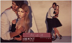 Ardent Poses - Wrap You Up Ad (Ardent Poses) Tags: secondlife second life sl avatar 2nd 2ndlife avi virtual vr 3d inworld poses pose ardent photography people exclusive avatars event love couple couples release new hold broderick logan ena roane enaroane bento advertisement flourish sales studio ardentposes flourishsalesstudio