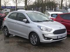 2019 Ford Ka+ (harry_nl) Tags: netherlands nederland 2018 tilburg ford ka vanmossel kcar