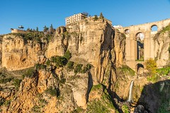 Puente Nuevo, Ronda, Spain (Explored) FAV_6149 (fotosclasicas) Tags: photo puente ronda spain españa bridge nikon landscape cityscape river trip tamronlens 2470mm historical espectacular canyon waterfall winter explore