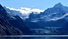 Fairweather Range (thomasgorman1) Tags: mountains scenic view cruise nikon clouds alaska glacier bay wilderness