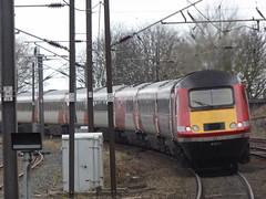 43277 leaves Berwick-upon-Tweed (13/2/19) (*ECMLexpress*) Tags: lner london north eastern railway hst intercity 125 43277 43316 berwick upon tweed ecml
