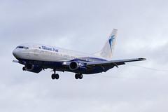 YR-BAZ | Blue Air | Boeing B737-405 | CN 24644 | Built 1990 | DUB/EIDW 22/01/2019 | ex LN_BRI, 9M-MLL (Mick Planespotter) Tags: aircraft airport dublinairport collinstown nik sharpenerpro3 yrbaz blue air boeing b737405 24644 1990 dub eidw 22012019 lnbri 9mmll 2019 flight b737