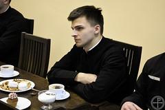 13.02.2019 - Патриарший Экзарх всея Беларуси встретился с администрацией и учащимися МинДА