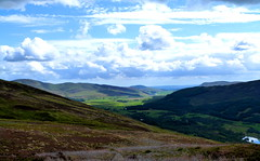 Hills And Glens Of Scotland (gcobb84) Tags: landscape clouds hills grass water loch