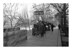 Quai de Seine (madras91) Tags: nb noiretblanc blackandwhite bw monochrome film tx400 kodaktx400 trix street streetphotography paris summicron35mmf2v3 35mm summicron leica leicam2