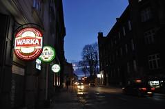 A night street (maciej.warzecha) Tags: cieszyn poland street night