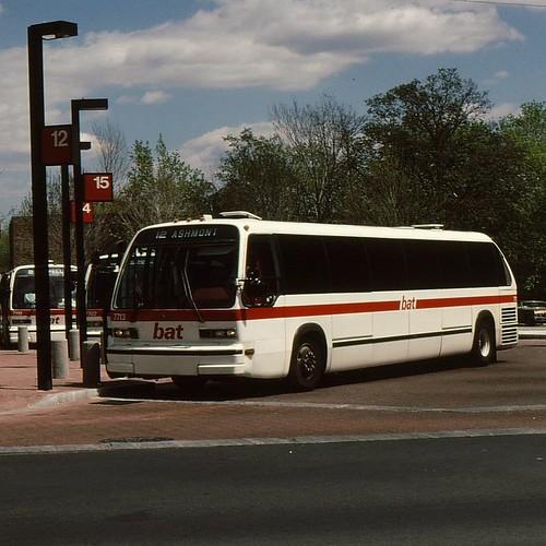 Bat Bus 12 >> Brockton Area Transit Authority Bat 1978 Gmc Rts 01 Th