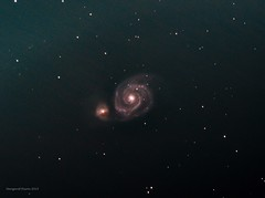 M51 whirlpool galaxy (Themagster3) Tags: