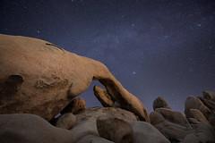 Arch Rock (David Colombo Photography) Tags: joshuatree nationalpark archrock rock stars night arch california nikon d800 davidcolombo davidcolombophotography desert astrophotography