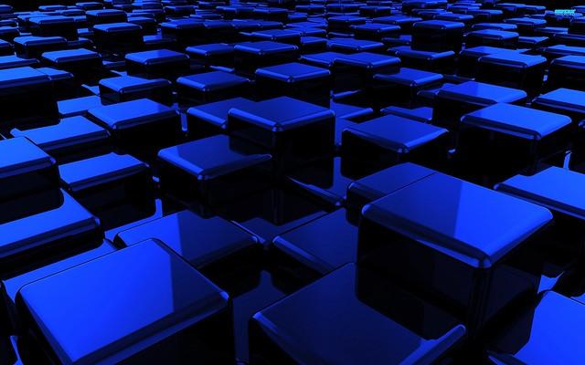 Обои куб, поверхность, тень, квадраты картинки на рабочий стол, фото скачать бесплатно