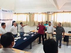 Toma protesta nuestro coordinador Heliodoro_hcde al nuevo delegado de la Sierra Norte y Sur Domingo Fentanes