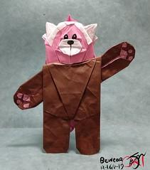 Bewear (Kajmana) Tags: origami pokemon bewear modular redpanda bear