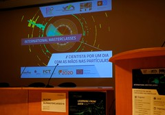International Masterclasses on Particle Physics (nfcastro) Tags: particlephysics cern atlas lip masterclasses science outreach braga portugal minho