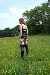 DSC02876a (swalsh58) Tags: mature outdoors farm sey leather boobs breasts naked bum