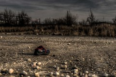 Lost Shoe (Jan Fenkhuber Photography) Tags: urbex urban dark photography abandoned decay exploration outdoors light romania brașov industrial sky cloud urbanexploration urbandecay urbandoned postapocalypse empty shoe lost space place