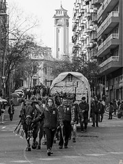 Tres Tombs de Barcelona 2019 (41) (Ismael March) Tags: barcelona trestombsdebarcelona trestombs santantoni blancoynegro